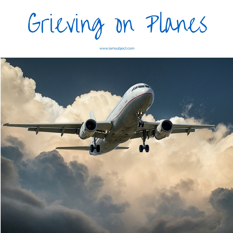Grieving on Planes